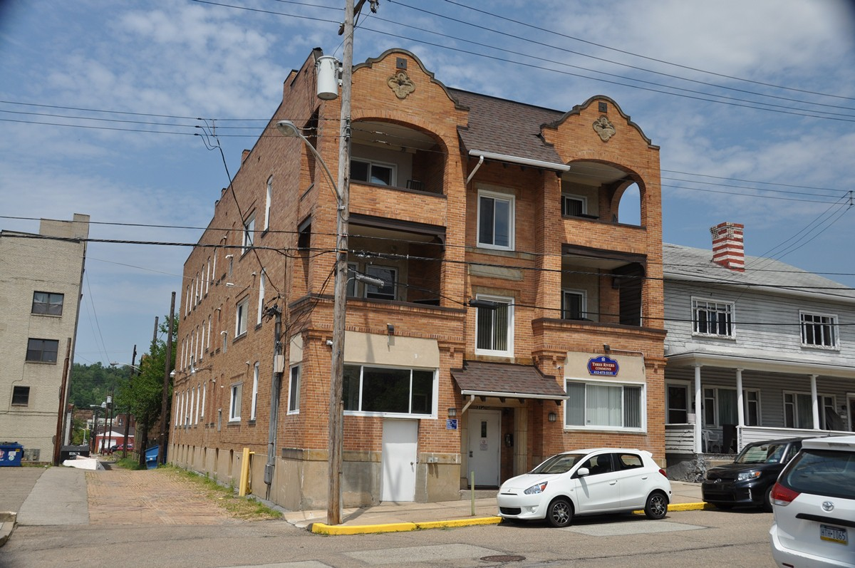 Four Story Apartment Building Located In McKeesport Consists Of 11  Single Occupancy Apartments, Community Room And Laundry On Site. Apartments  Include A ...